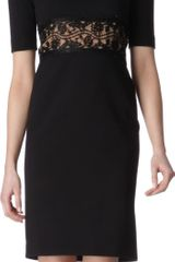 Emilio Pucci Panelled Lace Dress - Lyst