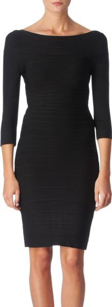 Forever Unique Lois Dress in Black - Lyst