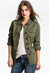 Hinge Army Jacket - Lyst