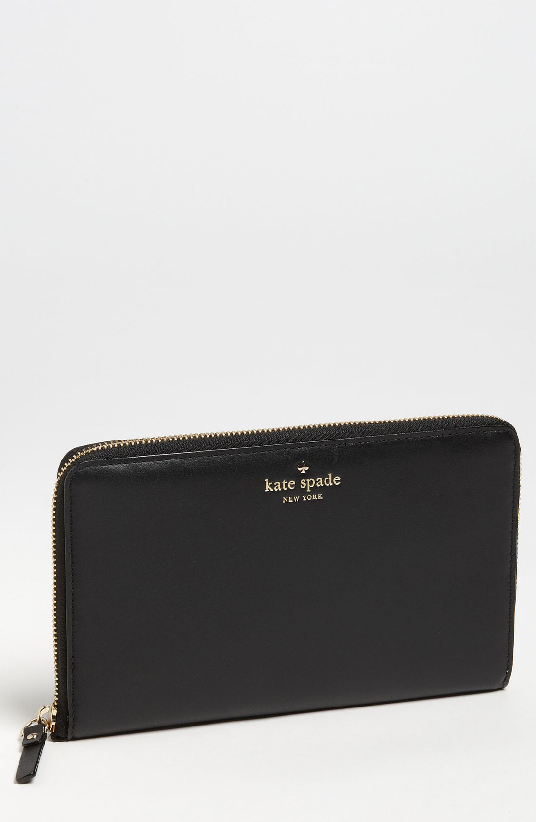 Kate Spade Brightspot Avenue Large Travel Wallet In Black
