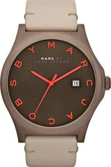 Marc By Marc Jacobs Stainless Steel and Leather Watch - Lyst