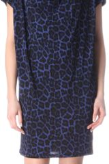 Michael by Michael Kors Leopard Print Jersey Dress - Lyst