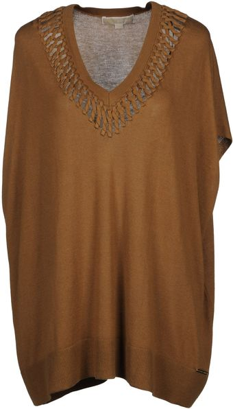 Michael by Michael Kors Short Sleeve Jumper - Lyst