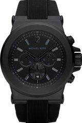 Michael Kors Stainless Steel and Silicone Chronograph Watch - Lyst