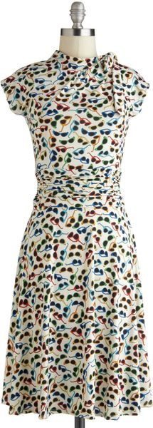 ModCloth Glasses Half Full Dress - Lyst