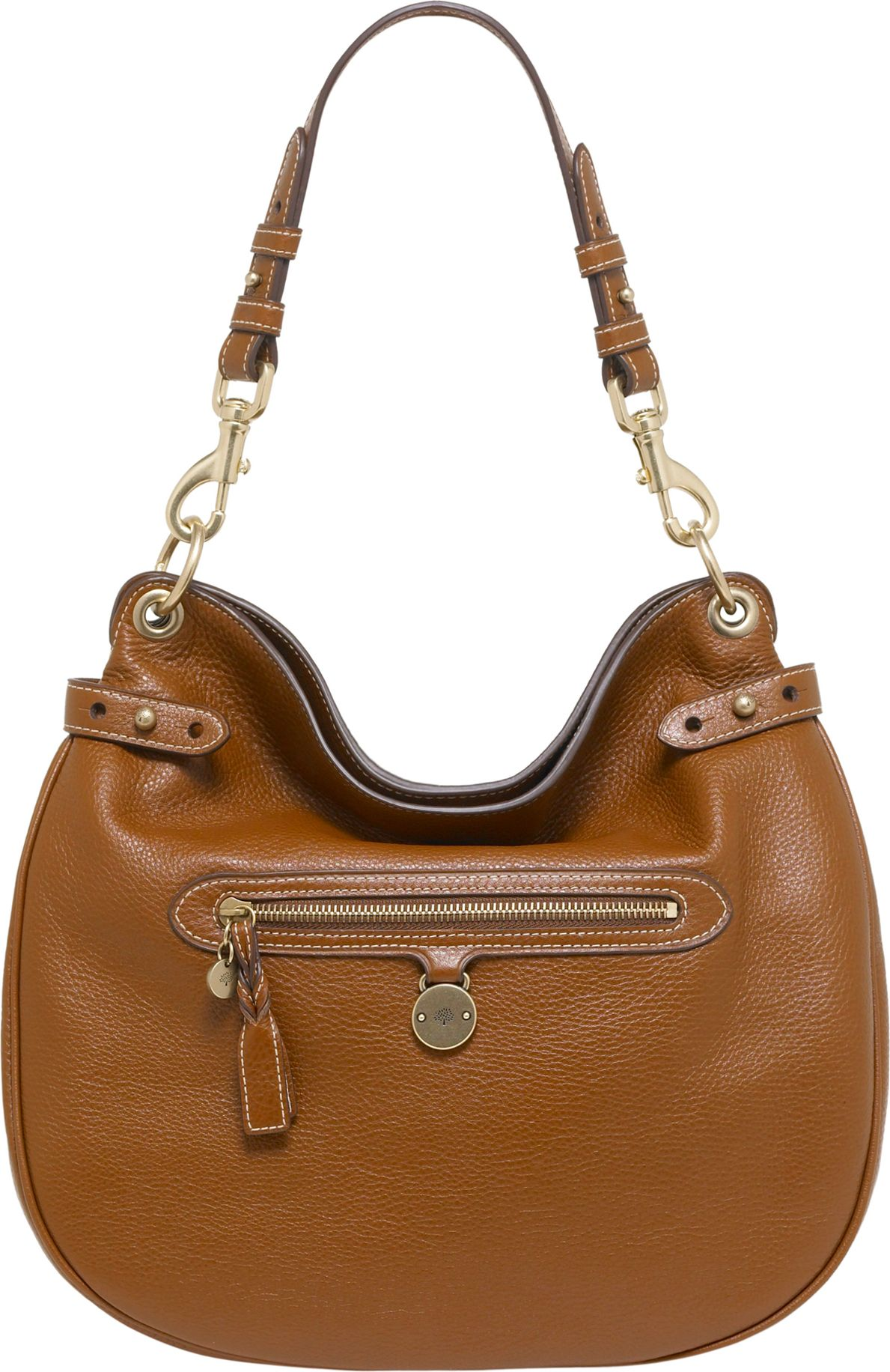 Mulberry Somerset Pebbled Leather Hobo in Brown - Lyst 64d17da9c24a1