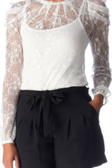 Oasis Lace Top - Lyst