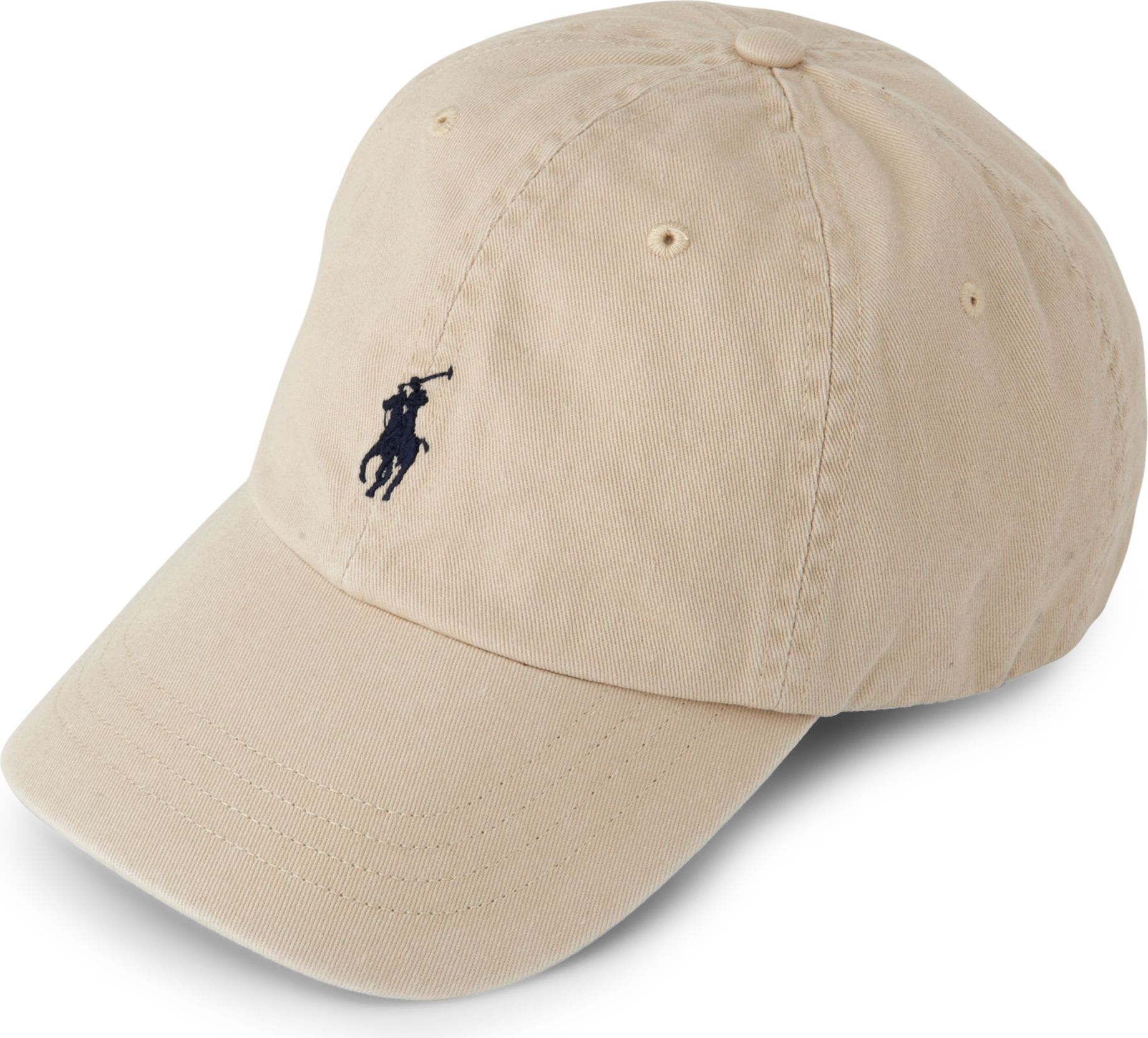 ralph lauren signature pony baseball cap in natural for men lyst. Black Bedroom Furniture Sets. Home Design Ideas