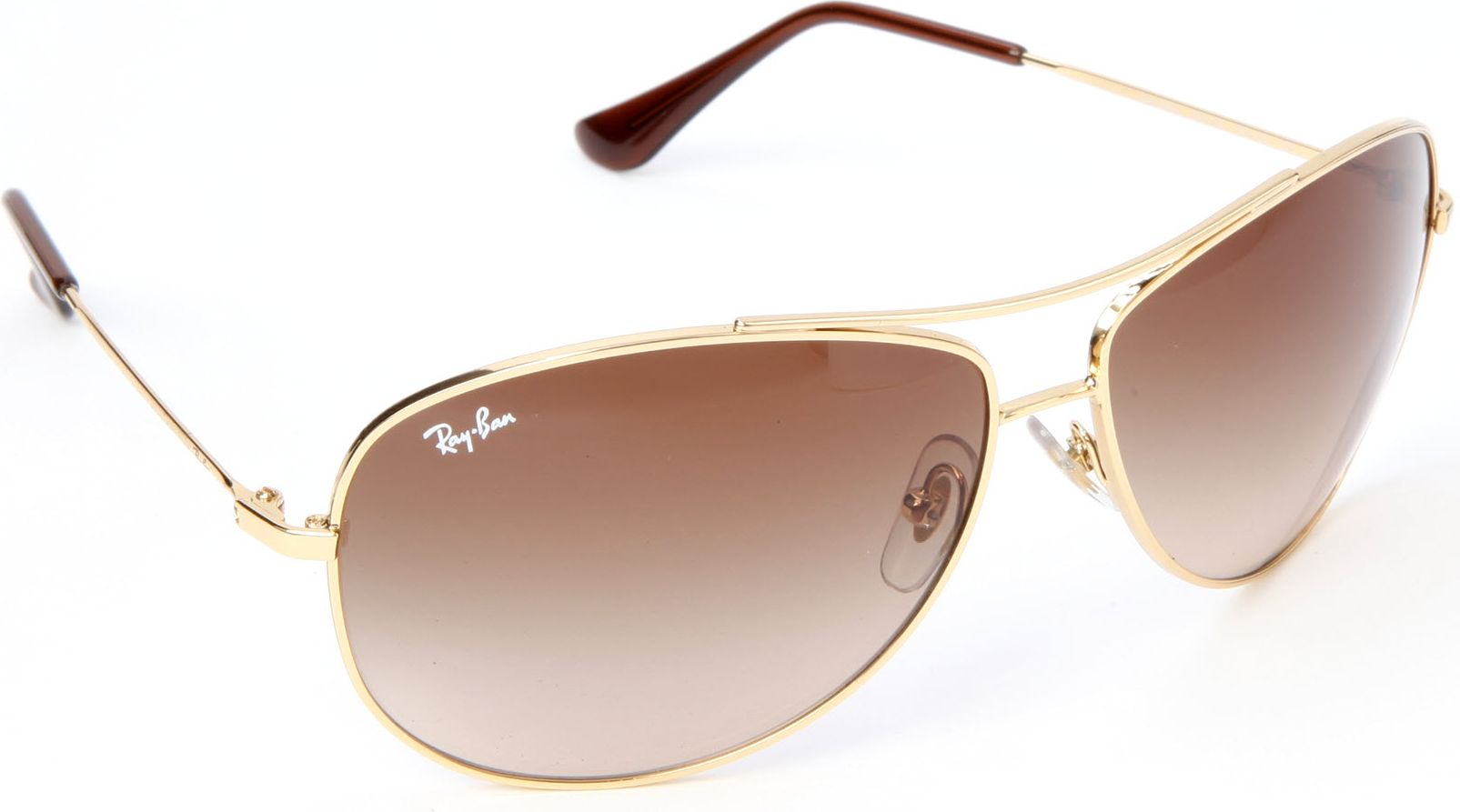 ray ban aviator sunglasses in gold lyst. Black Bedroom Furniture Sets. Home Design Ideas