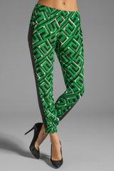 Sass And Bide The Stitch Up Pant in Blackgreen