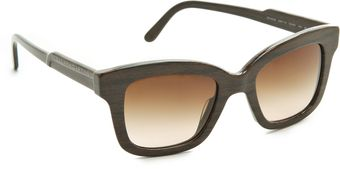 Stella McCartney Thick Square Sunglasses - Lyst