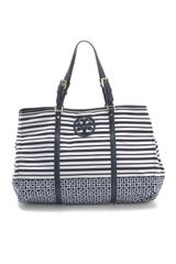 Tory Burch Stacked Logo Nylon Ella Tote - Lyst