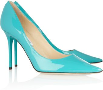 Jimmy Choo Abel Patent leather Pumps - Lyst