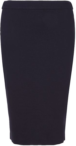 Armani Fitted Jersey Pencil Skirt - Lyst