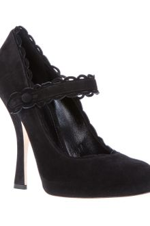 Dolce & Gabbana Mary Jane Pump - Lyst