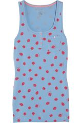 Juicy Couture Rose Print Tank - Lyst