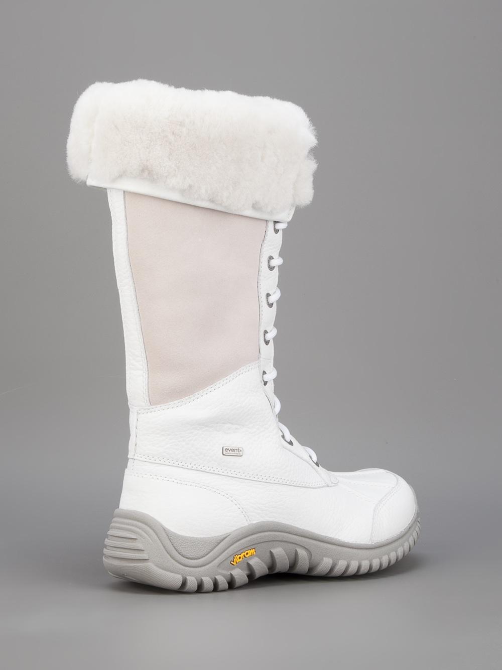 Ugg Adirondack Snow Boot In White Lyst