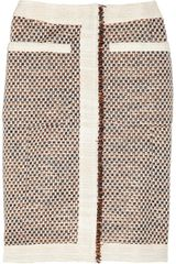 Altuzarra Metallic Tweed Pencil Skirt - Lyst