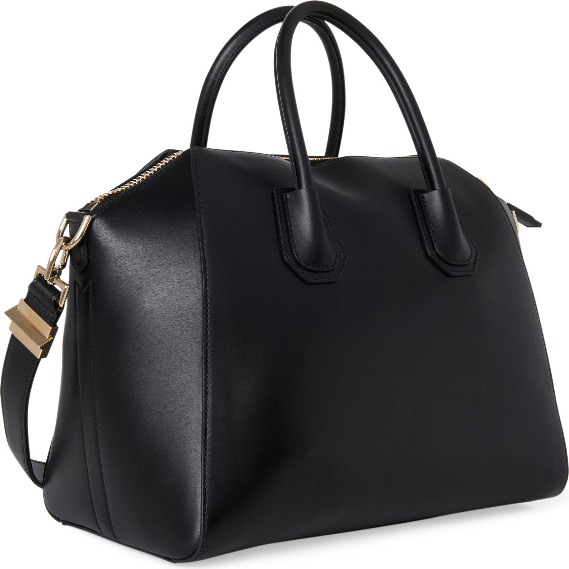 cbf495ae03bc Lyst - Givenchy Antigona Medium Smooth Leather Tote in Black