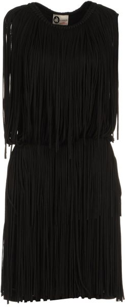 Lanvin 3/4 Length Dress - Lyst