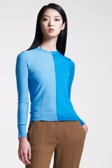 Carven Colorblock Sweater - Lyst