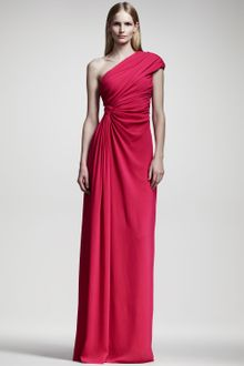 Giambattista Valli Draped Oneshoulder Gown - Lyst