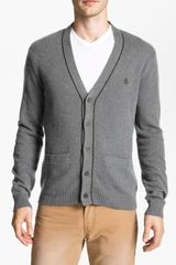Original Penguin Cardigan - Lyst