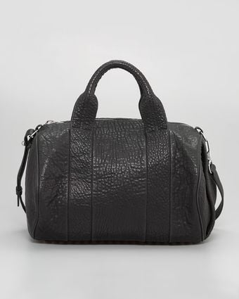 Alexander Wang Rocco Stud Bottom Satchel Duffel Bag  - Lyst