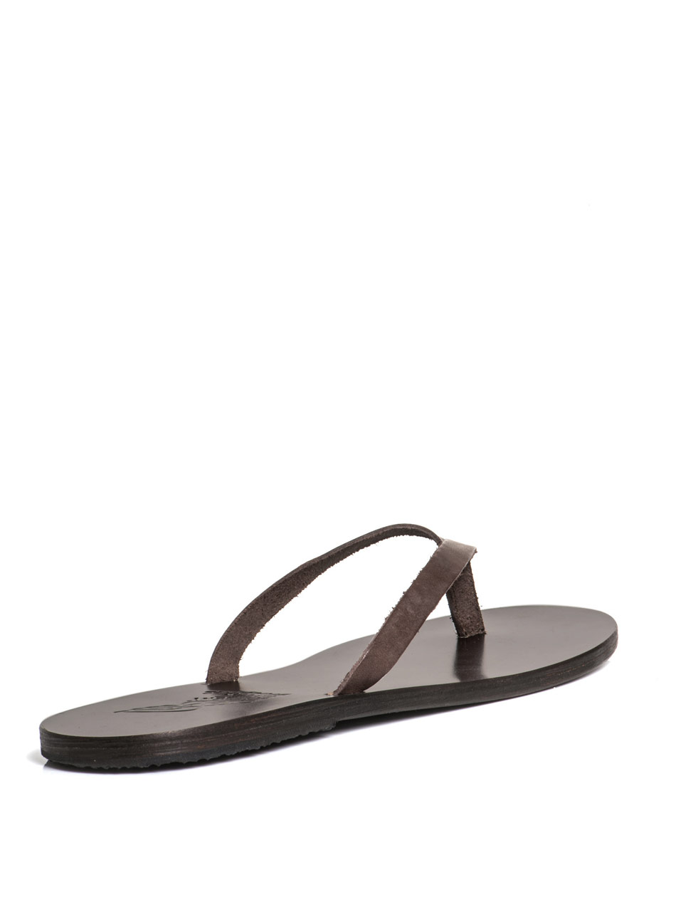 Lyst Ancient Greek Sandals Hero Sandals In Brown For Men