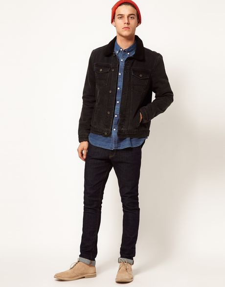 Jacket With Borg Collar in