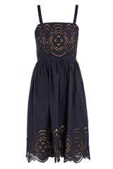 Collette By Collette Dinnigan Beach Baby Cutout Embroidered Dress - Lyst