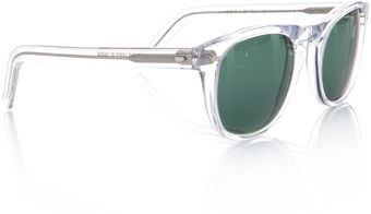 Cutler & Gross Transparent Frame Sunglasses - Lyst
