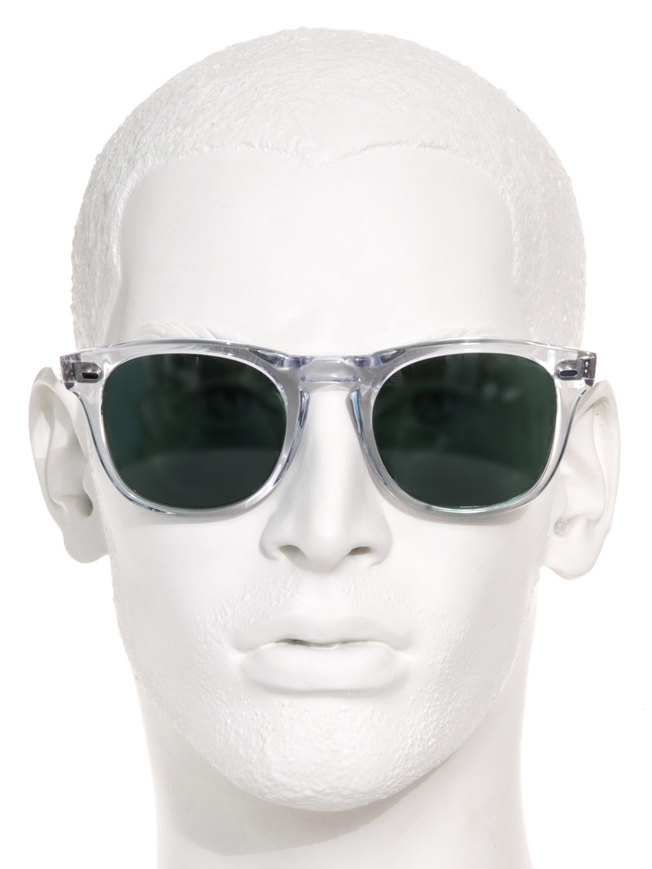 Lyst Cutler Amp Gross Transparent Frame Sunglasses In