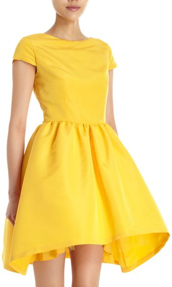 Katie Ermilio Crinoline Dress - Lyst