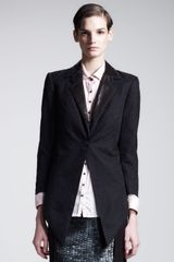 Kelly Wearstler Metropolis Leather Lapel Tuxedo Jacket - Lyst