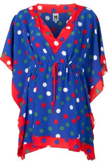 M Missoni Polka Dot Tunic Blouse - Lyst