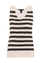 Marc By Marc Jacobs Stripe Silk Tank Top - Lyst