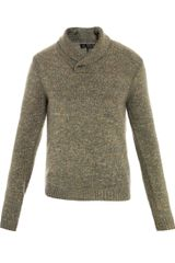 Rag & Bone Hosie Shawl Collar Sweater - Lyst