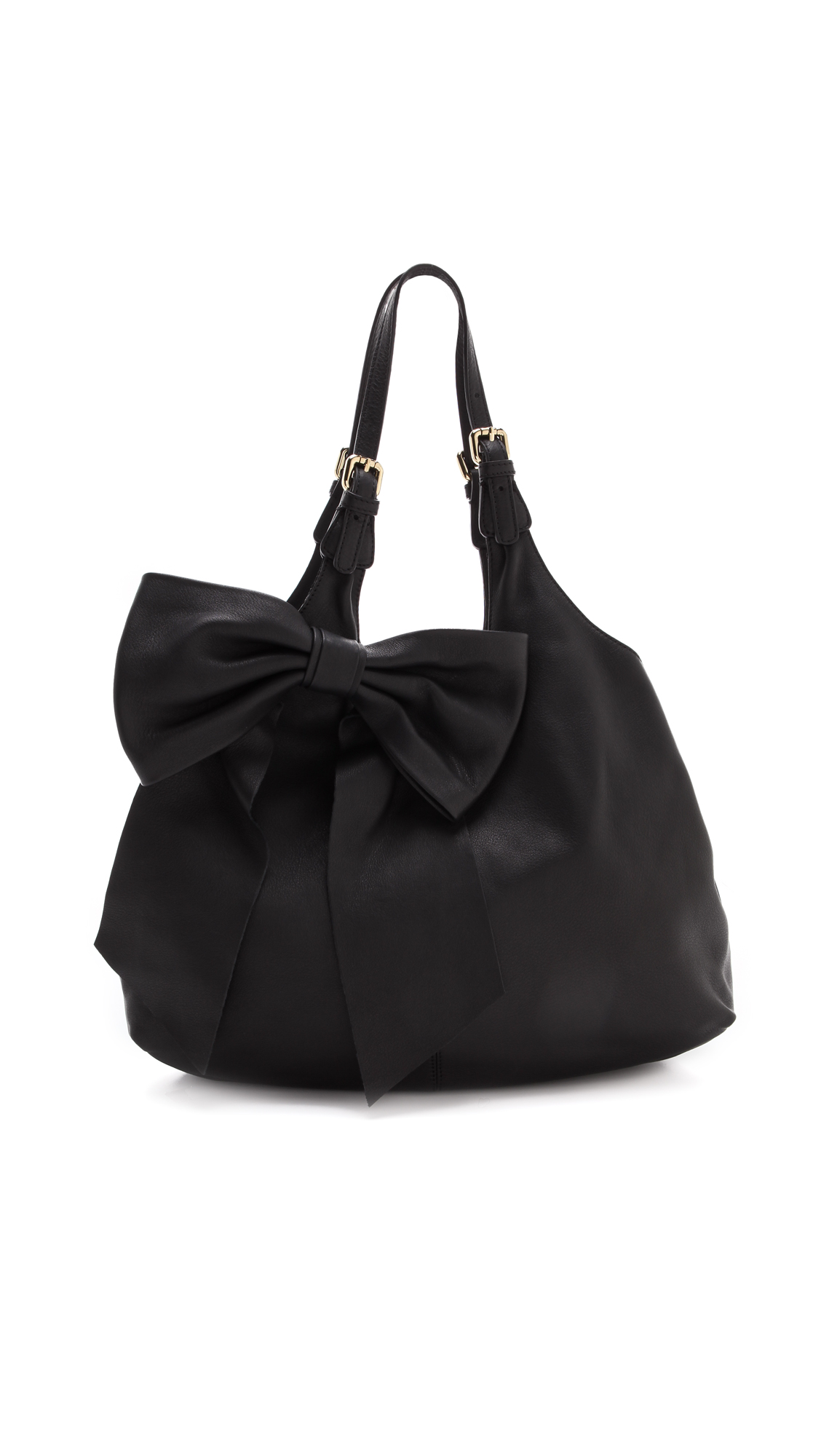 Red Valentino Bow Shoulder Bag In Black Lyst