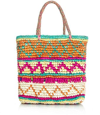 Sensi Studio Mini Multicolour Woven Straw Bag - Lyst