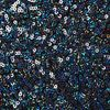Topshop Sequin Skater Skirt in Blue - Lyst