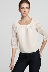 BCBGeneration Top Lace Back