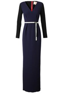 Roksanda Ilincic Crepe Wool Dress with Belt - Lyst