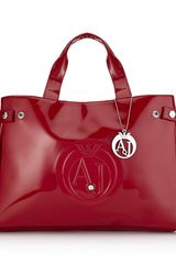 Armani Jeans Shopper Bag - Lyst