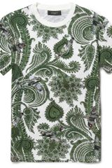 Givenchy Paisley and Planeprint Cotton Tshirt - Lyst