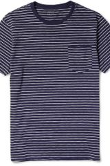J.Crew Striped Cotton T-Shirt - Lyst