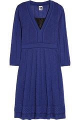 M Missoni Texturedknit Woolblend Dress - Lyst