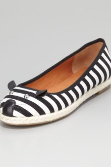 Marc By Marc Jacobs Mouse Striped Espadrille Flat - Lyst