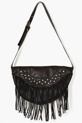 Nasty Gal Rock Stud Leather Bag - Lyst