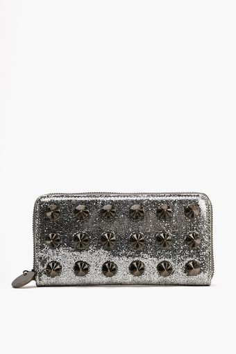Nasty Gal Empire Spike Wallet  - Lyst